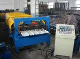 máquina de formação de rolos para folha de metal corrugado