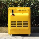 Diesel van de bizon 5kw Stille Draagbare Op zwaar werk berekende Generator In drie stadia