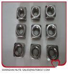Noix 316 DIN557 M6 carrée de l'acier inoxydable 304