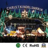 O LED 2D Street Motif luz decorativa da Rua de Natal de Luz