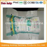Do tecido descartável do bebê da película do PE o tecido o mais barato do bebê do preço com indicador do Wetness