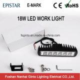Bajo costo de 18W 6.3INCH E-LED MARCA DE COCHE Luz de trabajo (GT1012-18W)