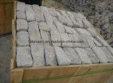 Il granito giallo G682 Cubestone, il Cobblestone, granito è caduto Cobblestone