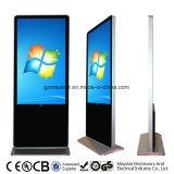42 인치 가득 차있는 HD WiFi 3G 유선 텔레비전 방송망 접촉 스크린 토템