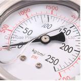 2.5inches 고품질 석유로 가득한 스테인리스 압력계 또는 정규적인 진동 증거 압력 계기