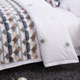 中国の卸し売りデラックスな綿のホテルの綿のベッド・カバー