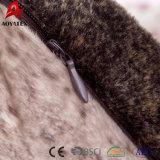Cuscino di manovella falso stampato Digitahi su ordinazione della pelliccia di Micromink