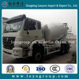 China Sinotruk Hohan 6X4 Dimensões do caminhão de concreto