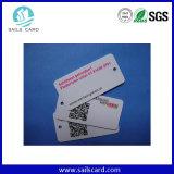 Impressão a Cores Personalizadas PVC Código QR do cartão de visitas