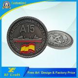 専門のカスタム亜鉛合金3Dの飛行機の軍隊の記念品の硬貨(CO01-B)