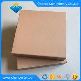 Style de livre personnalisé magnétique Boîte en carton de papier brun recyclé