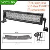 Barre tous terrains d'éclairage LED de CREE incurvée par barre bon marché d'éclairage LED