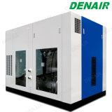 Compressor van de Lucht van de Olie van de Elektrische Motor van Denair de Vrije voor de Verwerking van het Voedsel