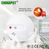 detector de humos del detector sin hilos del calor de la batería 9V (PST-WHS101)