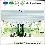Элегантный внешний вид строительного материала V-образный газа алюминия подвесной потолок
