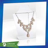 プレキシガラスの宝石類のホールダー、宝石類の陳列ケース