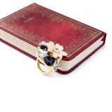 Ring van Figer van de Partij van het Huwelijk van de Bloem van de manier de Elegante