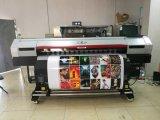 Impresora solvente de Eco de la inyección de tinta de Xuli los 2.5m con Xaar 1201 pistas dobles