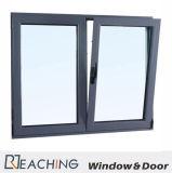 Шикарный серый Casement Windows металла окна наклона и поворота цвета для дороги типа 2 Европ открытой