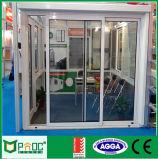 Porte coulissante en aluminium de Pnoc012sld