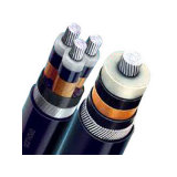 Tensão Baixa do cabo de alimentação de alumínio com isolamento de PVC 4X95mm2