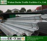 Thrie-Beam Guardrail оцинкованной стали