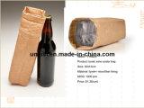 Bolso lavable de la botella de vino del totalizador de Champán del licor de la cerveza del papel de Kraft