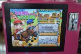 スーパーマーケットの贅沢な子供は子供のための3D馬に乗る
