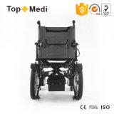 سعرات رخيصة يطوي [إلكتريك بوور] كرسيّ ذو عجلات لأنّ [ديسبل بيوبل]