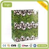 Fußball-Muster-Grün-Rasen-Kunst-Geschenk-Papierbeutel