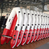 Liya 2m-6.5m Fluss-Boots-faltbare aufblasbare Ponton-Boote