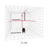 [1ف1ه] 2 خطّ نفس أحمر [لفلينغ] يقيس دوّارة ليزر مستوى