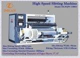 Automático de alta velocidad Slitter con bobinador & rebobinador (DLFQW-1300D)
