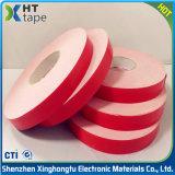 Weißes Acryl-PET Schaumgummi-Doppeltes versah Isolierungs-Band mit Seiten