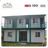 Het flexibele Moderne Huis van de Cabine van de Container van de Structuur van het Staal Prefab in Nepal