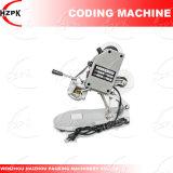 Máquina manual da codificação de máquina da impressão para o plástico de papel