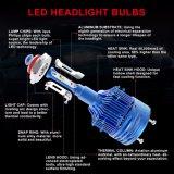 ampoule automatique 9006 de phare des accessoires H7 H4 DEL de véhicule de 12V 24V pour le véhicule