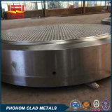 Prix titanique acier-cuivre inoxidable bimétallique de feuille de tube de plaque