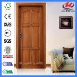 Porte intérieure de mélamine moulée par HDF/MDF en bois solide (JHK-MD01)