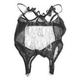 Erotische Lingerie voor Sexy Kostuums van Nuisette van de Kleding van Babydoll van de Bifurcatie van de Bustehouder van het Kant van de Lingerie van het Ondergoed van het Geslacht van de Pornografie van Vrouwen de Sexy Hete Open Open