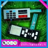 Personalizar o interruptor de membrana tátil Kepad En71/CCC do certificado lustroso do controle