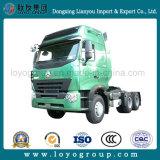 Vrachtwagen van de Aanhangwagen van de Tractor van de Tractor van Sinotruk HOWO A7 6X4 420HP de Hoofd