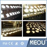 3W prix bon marché couverture épaisse Square 245lume panneau LED Ultra Slim la lumière de la Chine usine