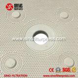 Abrir una vez la prensa de filtro de membrana con la placa que sacude el dispositivo