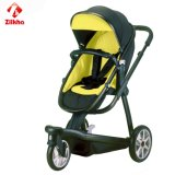 Carro de bebê de três rodas deDobramento
