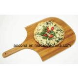 Pizza de bambú de la junta de corte redondo / placa de bambú / Tabla de cortar de bambú bandeja /