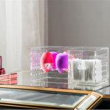 De moderne AcrylDoos van de Opslag van de Mixer van de Schoonheid van de Tribune van de Houder Mini