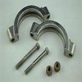 Ajustage de précision lourd sanitaire de bride de pipe d'acier inoxydable de moulage de précision