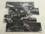 Schwarze kosmische natürliche Fußboden-Fliese-preiswerte Bodenbelag-Fliesen der Granit-Fliese-1cm