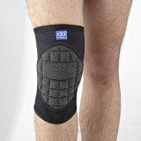 Parentesi graffa di ginocchio anticollisione di Crashproof Kevlar del neoprene di corsa con gli sci del hokey